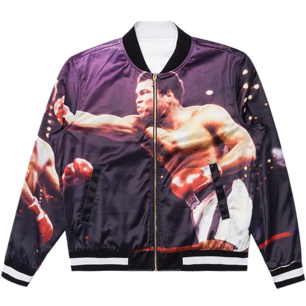 Diamond x Muhammad Ali Fight Reversible Jacket