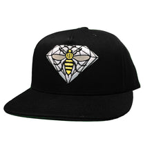 Load image into Gallery viewer, Diamond x NOTE black snapback cap