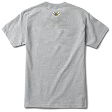 Load image into Gallery viewer, Diamond x NOTE For Luck heather grey T shirt