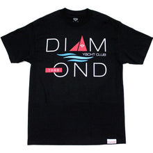 Load image into Gallery viewer, Diamond Yacht 98 black T shirt