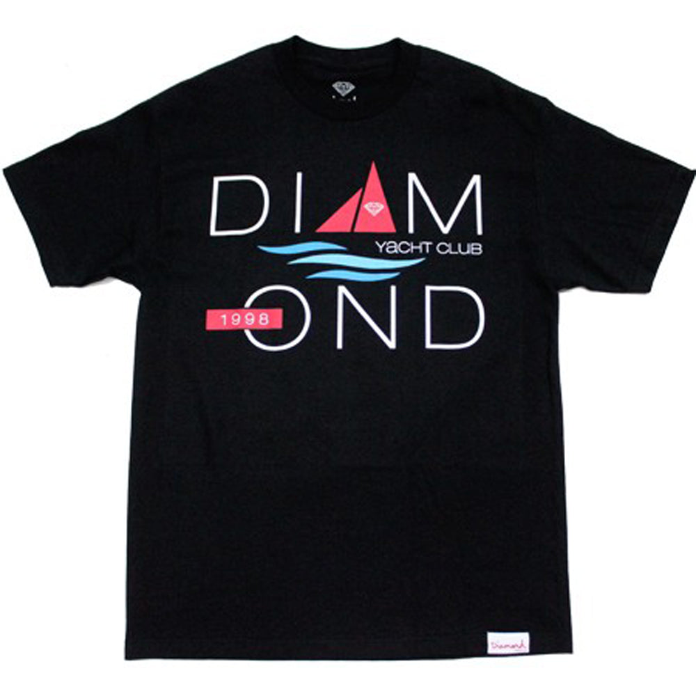 Diamond Yacht 98 black T shirt