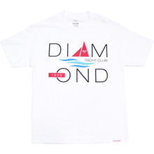 Load image into Gallery viewer, Diamond Yacht 98 white T shirt
