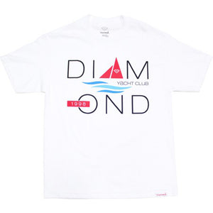 Diamond Yacht 98 white T shirt
