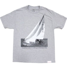 Load image into Gallery viewer, Diamond Yachting heather grey T shirt