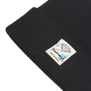 Diamond Snow or Shine black/diamond blue beanie