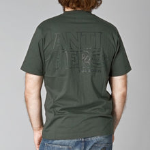 Load image into Gallery viewer, Dickies x Antihero pocket deep olive T shirt
