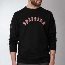 Load image into Gallery viewer, Dickies x Spitfire Crewneck black crew