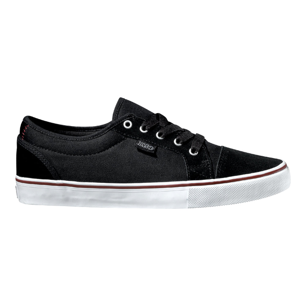 DVS Luster black canvas