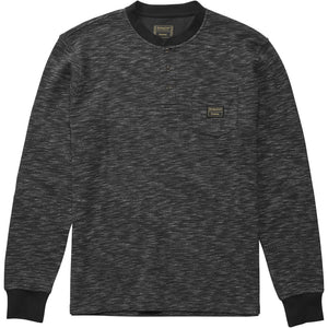Emerica x Pendleton long sleeve henley black