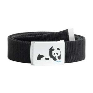 Enjoi Panda black web belt