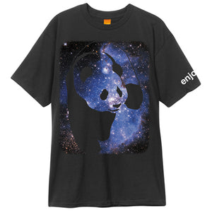 Enjoi Cosmos Panda black T shirt