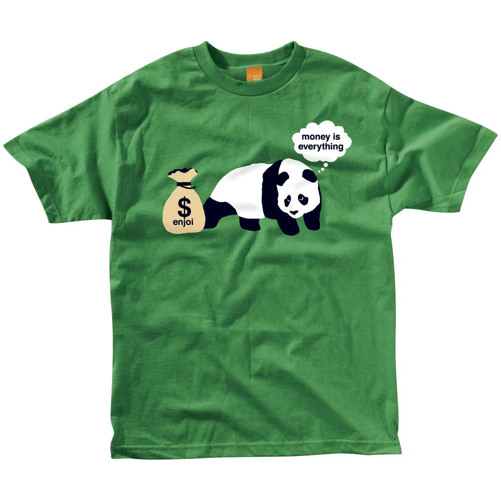 Enjoi Greedy kelly green T shirt