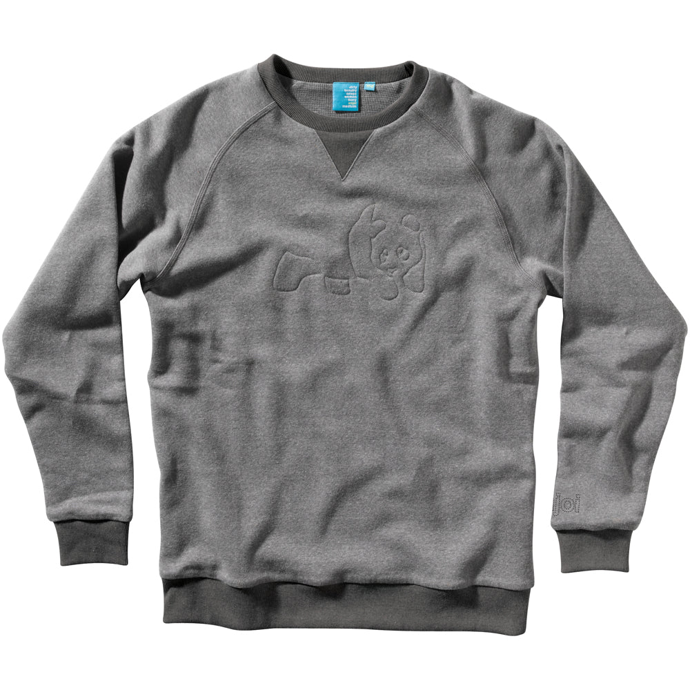 Enjoi Greyhound grey crew