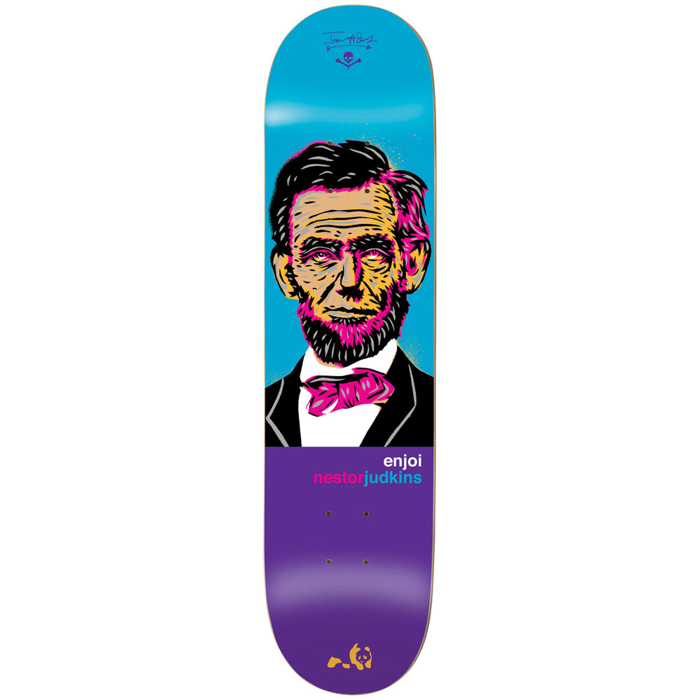 Enjoi Presidents Nestor Judkins R7 deck 8