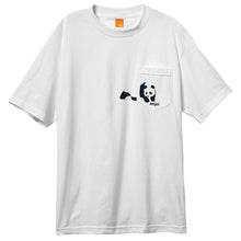 Load image into Gallery viewer, Enjoi Panda pocket white pocket T shirt
