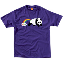 Load image into Gallery viewer, Enjoi Rainbow Fart purple T shirt