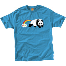 Load image into Gallery viewer, Enjoi Rainbow Fart turquoise T shirt