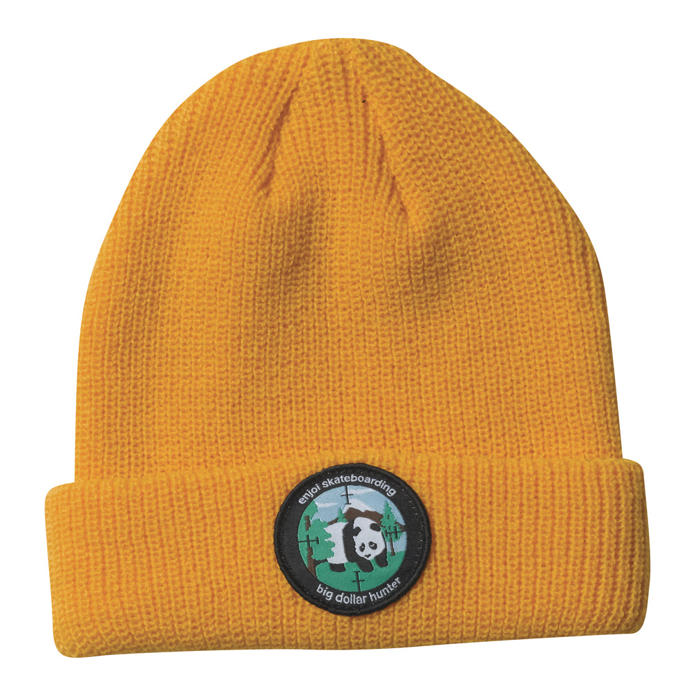 Enjoi Sharpshooter orange beanie hat