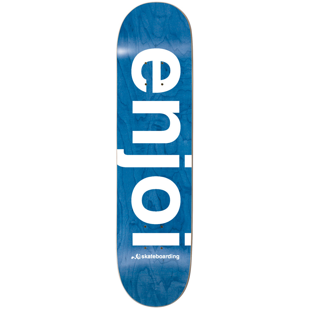 Enjoi Spectrum blue deck 8.38