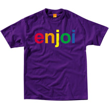 Load image into Gallery viewer, Enjoi Spectrum purple T shirt