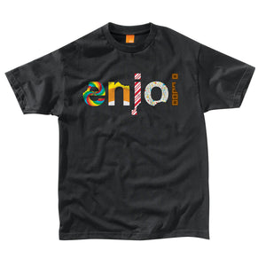 Enjoi Sweet Candy black T shirt