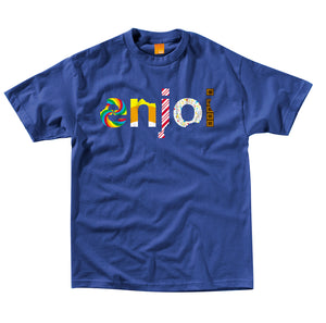 Enjoi Sweet Candy royal blue T shirt