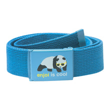 Load image into Gallery viewer, Enjoi Panda turquoise web belt