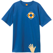 Load image into Gallery viewer, Enjoi Lifesaver premium royal T shirt