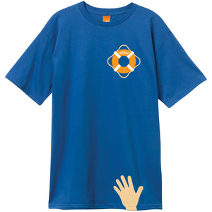 Enjoi Lifesaver premium royal T shirt