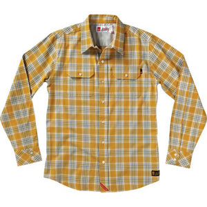 eS Uptown long sleeve mustard shirt
