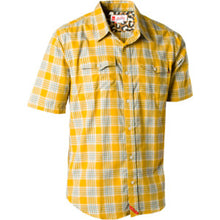Load image into Gallery viewer, eS Uptown short sleeve mustard shirt