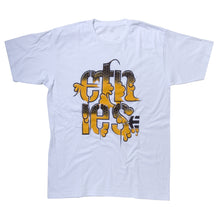 Load image into Gallery viewer, Etnies Joe Gavin Tale Of Two Cities white T shirt