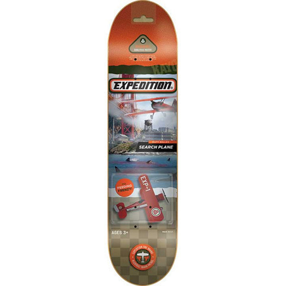 Expedition One Toys Miller deck 7.9