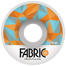 Load image into Gallery viewer, Fabric Fairmont Pattern 54mm wheels