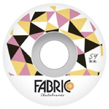 Load image into Gallery viewer, Fabric Lewisville pink 54mm wheels