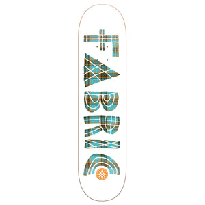 Fabric Tartan Cabaret white deck