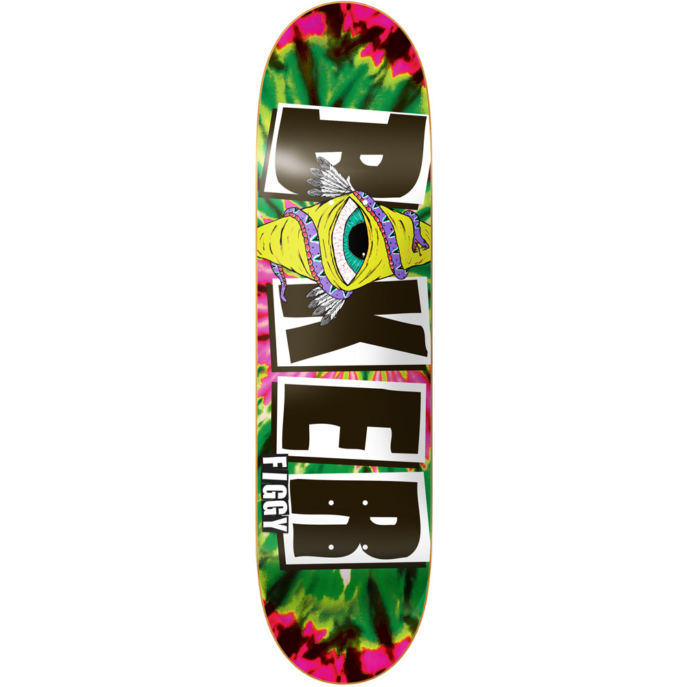 Baker Figgy icon green tie dye 8.25