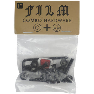 "Film Combi 1"" bolts black"