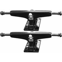 Load image into Gallery viewer, Film Death collab Trucks 5.25 black 8""
