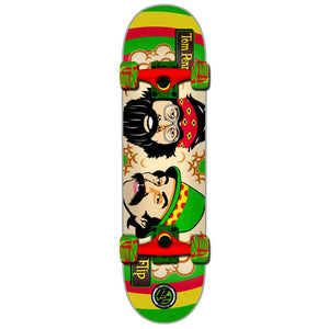 Flip P2 Penny Cheech and Chong rasta complete skateboard