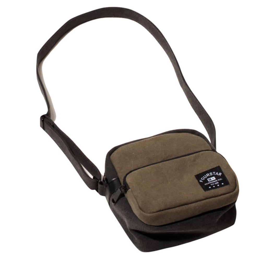 Fourstar Tri-Tone Canvas Label olive camera bag