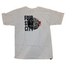 Load image into Gallery viewer, Fourstar Cityscape white Tshirt
