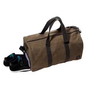 Fourstar Tri-Tone Canvas Label olive duffel bag