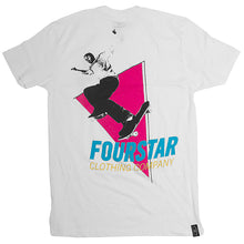 Load image into Gallery viewer, Fourstar Fandangle white T shirt