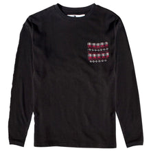 Load image into Gallery viewer, Fourstar Goodman black knitted crew