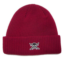 Load image into Gallery viewer, Fourstar Pirate Fold red beanie
