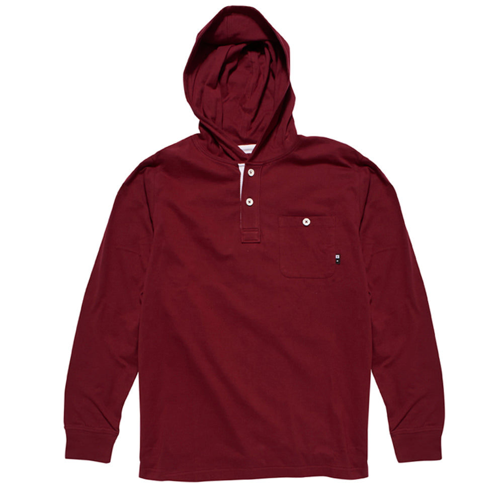 Fourstar Anderson burgundy hooded sweat