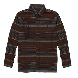 Fourstar Anderson L/S woven brown shirt