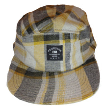 Load image into Gallery viewer, Fourstar Label plaid gold 5 Panel