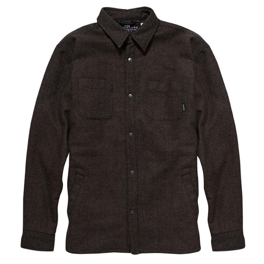 Fourstar Trujillo Signature L/S brown woven wool